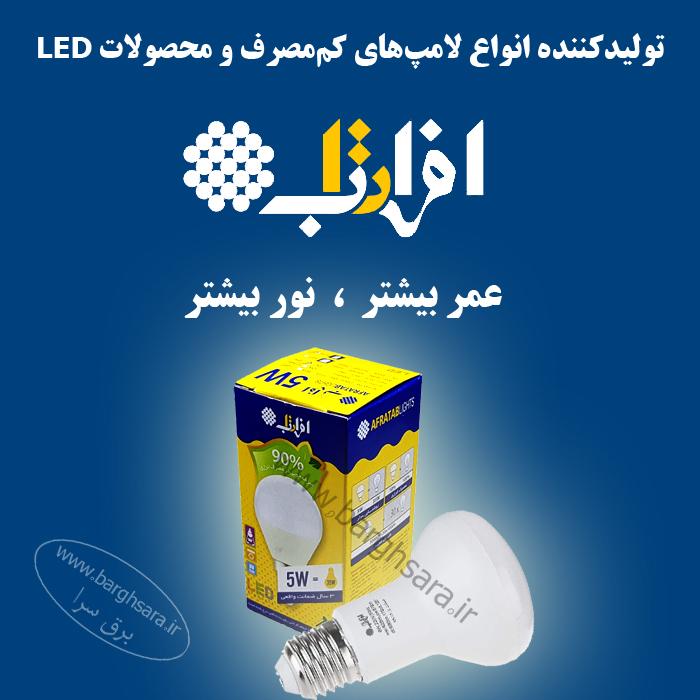 صنایع الکترونیک افراتاب تولید کننده محصولات روشنایی و مخابراتی