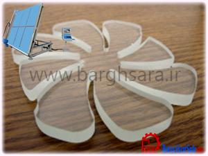 نمونه کار دستگاه برش شیشه