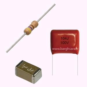 مقاومت الکتریکی و خازن