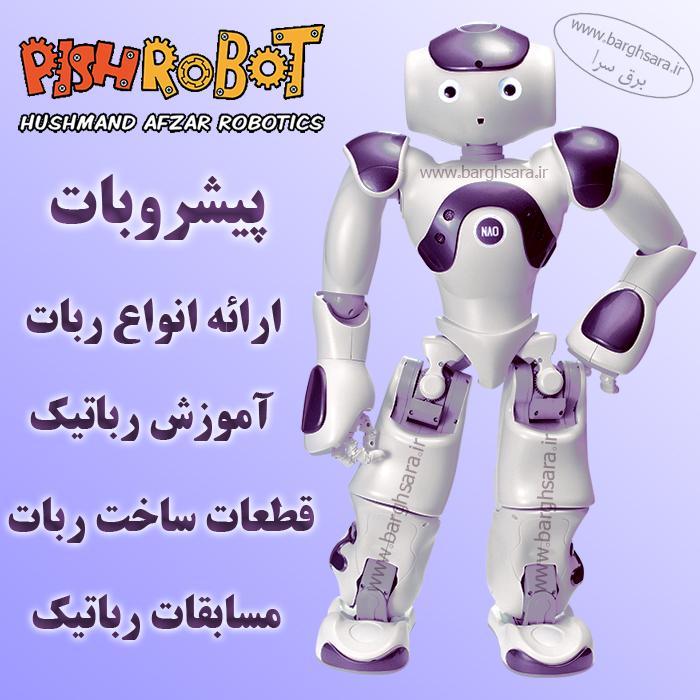 هوشمند افزار آموزش روباتیک و تولید محصولات روباتیک