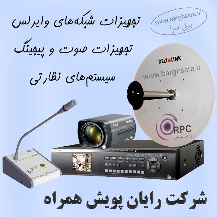 رایان پویش همراه شبکههای کامپیوتری، سیستمهای امنیتی و حفاظتی، صوت و پیجینگ
