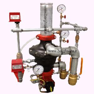 سیستم اطفاء حریق مبتنی بر آب